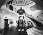 Interior of hallway, Culver residence