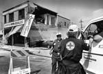 Red Cross on the scene
