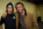 Sean Penn and Hopper Penn, 2009