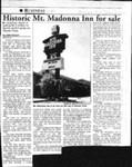 Historic Mt. Madonna Inn for sale